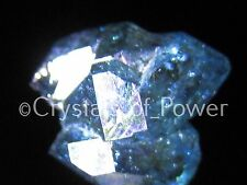 ONE RARE STARBRARY AQUA AURA HERKIMER DIAMOND QUARTZ CRYSTAL! HERKIMER NY! LRG