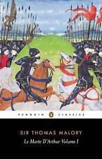 Le Morte D'Arthur Vol. I: v. 1, Malory, Thomas Paperback Book