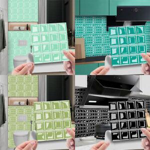 Magic Gel Tiles Self Stick Mosaic Tile for Kitchen Bathroom Backsplash Wallpaper
