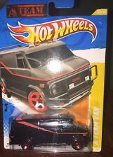 Hot Wheels 2011 New Models A TEAM VAN GMC PANEL Replica Black ATeam 1/64 #