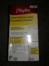 Playtex Nurser Drop One Liners 100ct Liners 8-10oz fast shipping!
