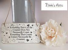 Inspirational Einstein Quote wooden Plaque,Sign, Handmade, Gift, Home