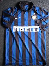 Inter Mailand-Trikot-Nike-Pirelli-Größe M- L-Dri Fit