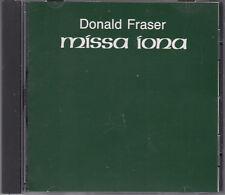 Donald Fraser : Missa Iona CD World Premier Recording New York Choral Society