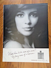 1970 Emeraude Parfum  de Coty Ad  Try Being More of a Woman