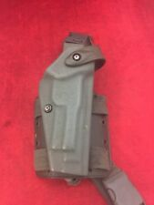 SAFARILAND Drop Leg Holster Green Right Hand Double Strap Glock 6005-173 Ber 92
