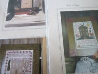 CS248, SALE, 2 assorted Samplers, cross stitch charts, OOP, YOUR CHOICE, NEW