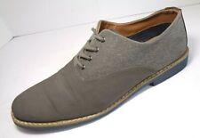 Mens Aldo Gray  Fabric Oxfords Casual Dress Shoes US 11