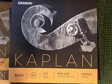 D'Addario Kaplan double bass string set (4)