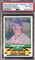 Edgar Martinez 1988 PSA Graded CMC Minor League AAA All-Stars #34-PSA 8 NM-MT