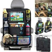 Car Seat Back Protector Cover For Children Baby Kick D4K7 Mat Protect Bags I1W9