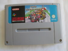 NINTENDO SNES SUPER NINTENDO GAME SUPER MARIO KART