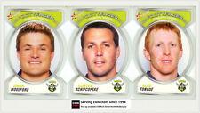 2006 NRL Accolades Series Trading Cards Face Die Cut Team Set Raiders (10)
