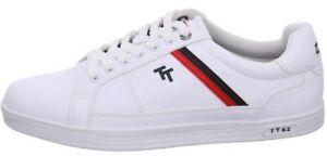 Tom Tailor Herren Sneaker Weiß Gr.42  1183101 Halbschuh Freizeitschuh (21328)