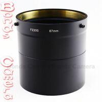 67mm 67 mm Camera Lens Filter Adapter Tube for Panasonic Lumix DMC-FZ200 DMW-LA7