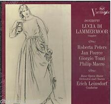 Donizetti: Lucia Di Lammermoor / Leinsdorf, Peerce, Peters, Tozzi - LP Rca