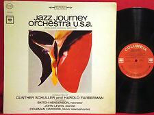 COLEMAN HAWKINS JOHN LEWIS Jazz Journey Orchestra 1965 COLUMBIA 360 STEREO