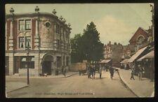 NORTHANTS Rushden Post Office 1907 PPC