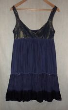 Designer Warehouse Wedding Evening Sequin Dress Size 12, EU 40. 100% Silk!