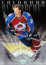 1996-97 Leaf Preferred Steel Power #6 Peter Forsberg