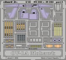 EDUARD 49 283 1/48 OV-1A Mohawk interior (RODEN) Colorierte Ätzteile