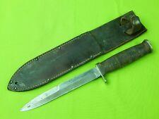 US WW2 Kutmaster Fighting Knife w/ Sheath