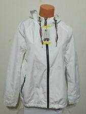 Tommy Hilfiger Womens Windbreaker Jacket Size SMALL White...
