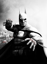 Batman The Dark Knight Arkham Giant Poster - A0 A1 A2 A3 A4 Sizes Available