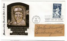 Baseball Billy Southworth HOF Hand Signed Autographed Cover w/ COA CV$500