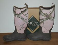 Muck Boots Company Realtree Pink Sub Zero Hunting Outdoor Size 8 Women's