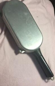 Vtg Cast Aluminum Fish Poacher Pan Miracle Maid G2 Folding Omelet Skillet EUC!