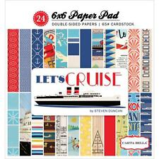Carta Bella ~ LET'S CRUISE ~ 6x6 Paper Pad