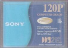 Sony DG120P 4.0 GB 120 M DDS-2 & DDS-3 Cinta Cartucho de datos-Nuevo/Sellado-B