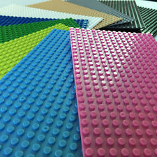 NEW Lego compatible Baseplates Base Plate  Building blocks 16x32 (message color)