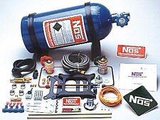 NOS 05001 Powershot Nitrous System Kit Holley 4150 Squarebore and Edelbrock