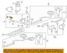 2013-2015  Malibu 2.5L-L4 Exhaust-Front Pipe Gasket NEW GM #  20972702