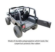 Bed Rug Premium Rear Floor Liner Kit for 87-95 Jeep YJ Wrangler