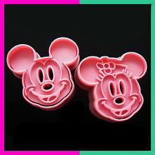 Hotsale Fondant Cake Cookie Cutter Mold Mould Cartoon DIY Fun Mickey