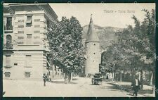Trento Città Torre Verde cartolina QT4127