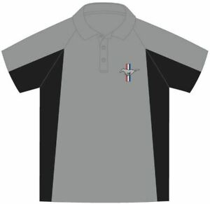 Mustang Performance Polo Shirt * LAST ONES in 2XL & 3XL * Free Shipping to USA!