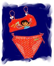 Dora bikini rouge coeurs fille Tankini deux pièces maillot de bain gr. 98