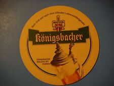 Beer Coaster <> Königsbacher Brauerei, Koblenz, GERMANY ~*~ See STORE for More +