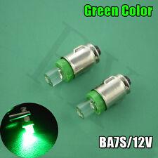 10XNew Land Rover Series 3 Dash Gauge Light Bulbs LED BA7S Green Fitting Set Kit