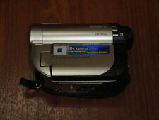 PLEASE READ FIRST - Sony Handycam DCR-DVD650 SILVER Camcorder ONLY- Nothing Else