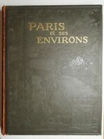 Rare Livre Ancien Paris et ses environs Larousse Albert Dauzat Fernand bournon