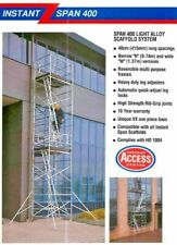 More details for instant span 400n scaffold tower, 5m platform height, narrow width - 740mm wide