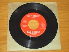 "PROMO INSTRUMENTAL 45 RPM -  SAM BUTERA - CAPITOL 4264 - ""EASY ROCKIN' """