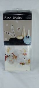 DOGWOOD FLOWERS wall stickers 26 decals wall decor branch white blooms NEW