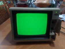 "Comrex CR-5400 1983 model with working green screen 9"""