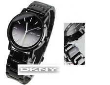 DKNY WOMEN'S COLLECTION 2 TONES DIAL BLACK WATCH NY2184
